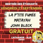 Concerts gratuits pour la semaine de l'étudiant