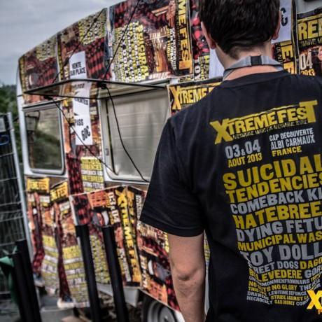 Billetterie Xtreme Fest 2013