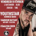 YouthStar (ChineseMan) / Tambour Battant / Fémaizon Crew