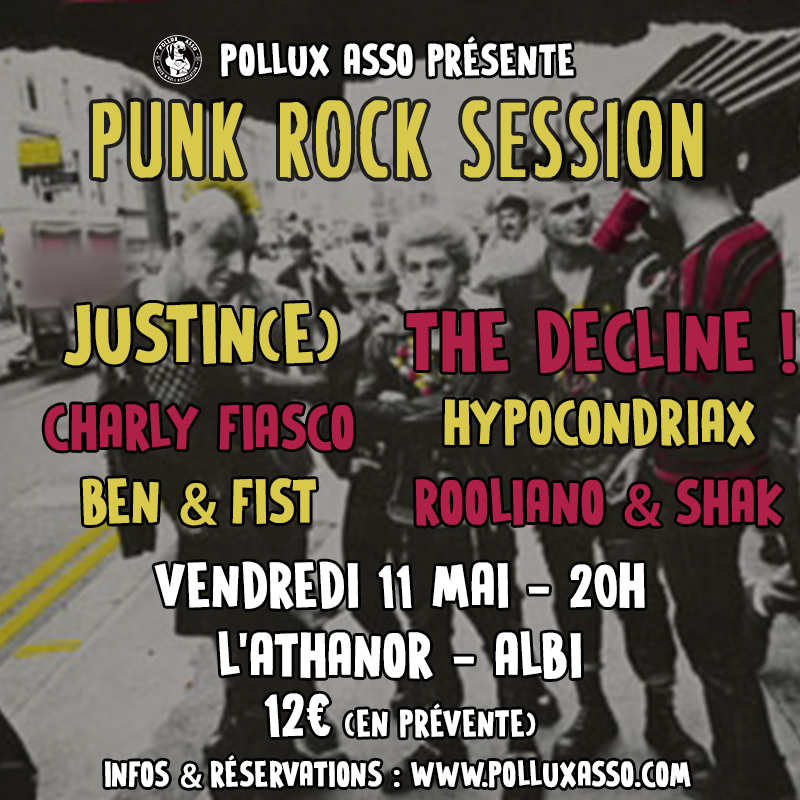 Punk Rock Session à l'Athanor !