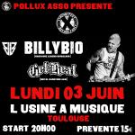 BillyBio : la légende de Biohazard à Toulouse !