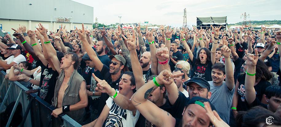 Public à fond! @Xtreme Fest 2014