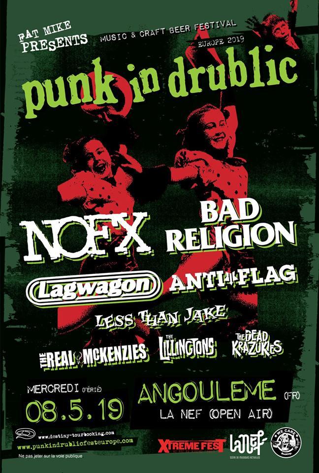 Punk in Drublic festival France à Angoulême !