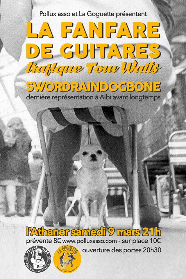 La Fanfare De Guitares Trafique Tom Waits !