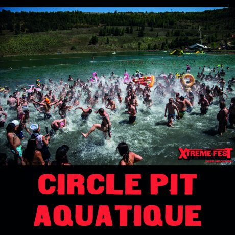Circle-pit aquatique – Xtreme Fest #7